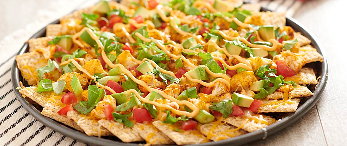 TRISCUIT Cauliflower Nachos